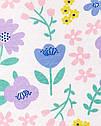 Песочник картерс для девочки с цветочками Carter's, фото 3