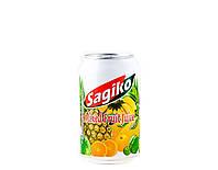 Напій Мікс тропічних фруктів Sagiko 320 мл