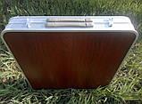 Стол для пикника раскладной + 4 стулья  Rainberg RB-9301 усиленный, фото 8