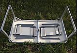 Стол для пикника раскладной + 4 стулья  Rainberg RB-9301 усиленный, фото 4