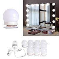 Светодиодные зеркальные лампы для макияжа в стиле Голливуда Hollywood lights   Підсвітка на дзеркало