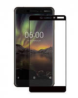 Захисне скло 3D Perfect Protection Full Glue Lion для Nokia 6.1, Black