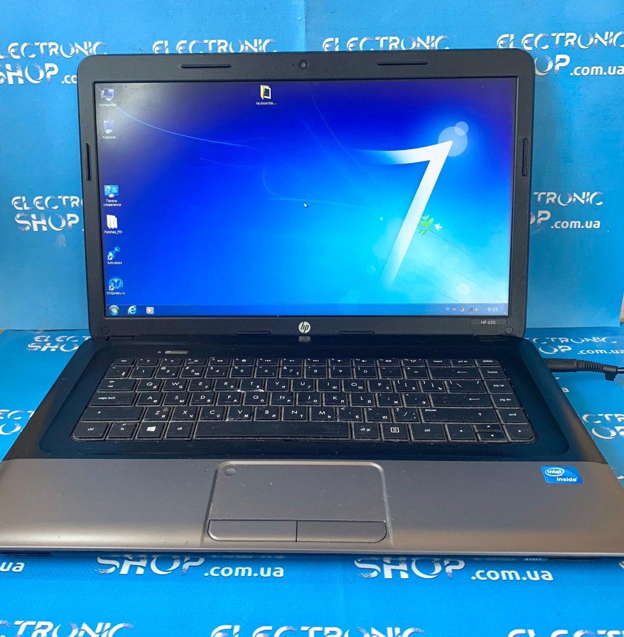 Ноутбук HP 650 (H4Q96ES) б.у