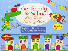 Get Ready for School. Wipe-Clean Activity Pack