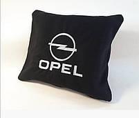 """Автомобильный плед в чехле с вышивкой логотипа """"Opel"""", фото 2"""