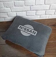 """Автомобильный плед в чехле с вышивкой логотипа """"Nissan"""", фото 2"""