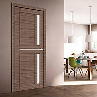 Двери межкомнатные Deco 01 Cortex стекло сатин