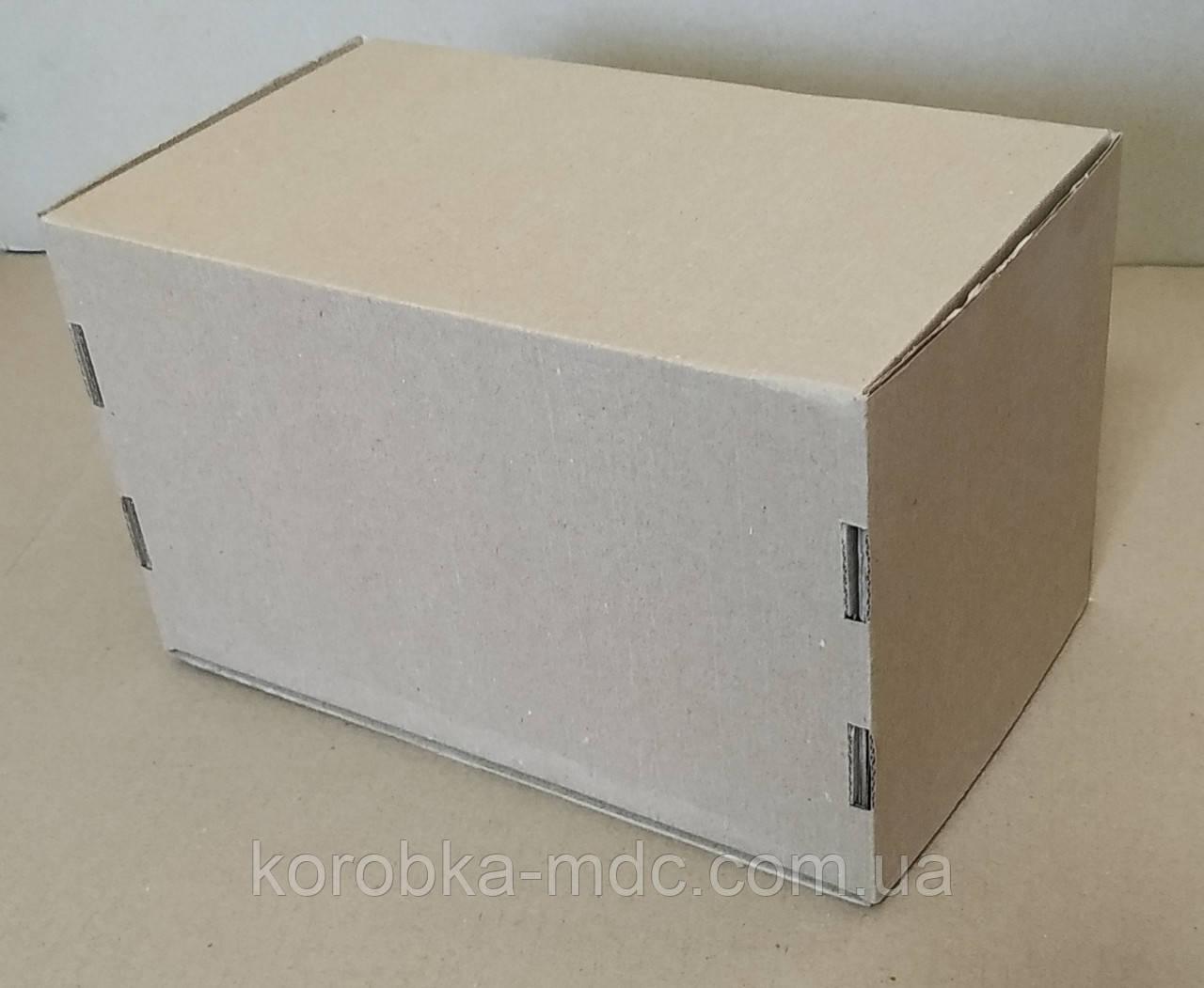 Коробка бурая 270х166х166 самосборная (шкатулка)