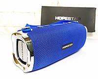 Мощная Беспроводная Портативная Блютуз колонка Hopestar H24 Синяя