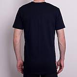 Чоловіча спортивна футболка PUMA, темно-синього кольору, фото 2