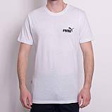 Чоловіча спортивна футболка PUMA, темно-синього кольору, фото 3