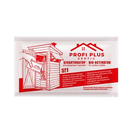 Биоактиватор для дворовых туалетов Profi Plus 25г/36шт Бельгия