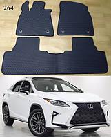 Килимки ЄВА в салон Lexus RX '16-