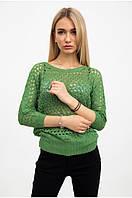 Свитер женский с люрексом зеленый размер 44-46 SL-3