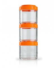 Контейнер спортивный BlenderBottle GoStak 3 Pak Orange (ORIGINAL)