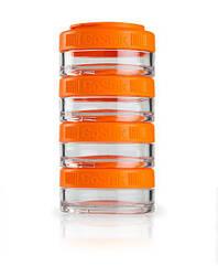 Контейнер спортивний BlenderBottle GoStak 4*40ml Orange (ORIGINAL)