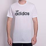 Чоловіча спортивна футболка Adidas, кольору бордо, фото 3