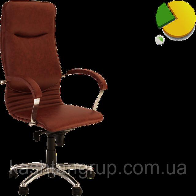 Кресло NOVA steel MPD AL68 Шкіра LUX