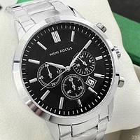 Чоловічі наручні годинники Mini Focus MF0188G.03 Silver-Black (Відеоогляд), фото 1