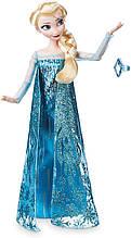 Кукла принцесса Эльза Дисней с кольцом Холодное сердце Disney Elsa Classic Doll with Ring Frozen