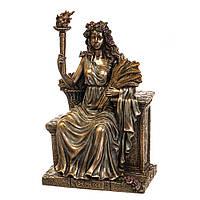 Cтатуэтка Veronese Деметра на троне 77575A4