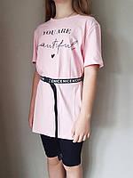{есть:140} Комплект для девочек, Артикул: ALL251-розовый [140], фото 1
