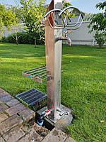 Садовый кран, кран для воды в сад. Гидрант,  садовый столб, Декоративный кранв сад