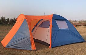 Палатка, двух, трёх, 2,3 местная, двухслойная, с тамбуром, туристическая, просторная, польская, непромокаема