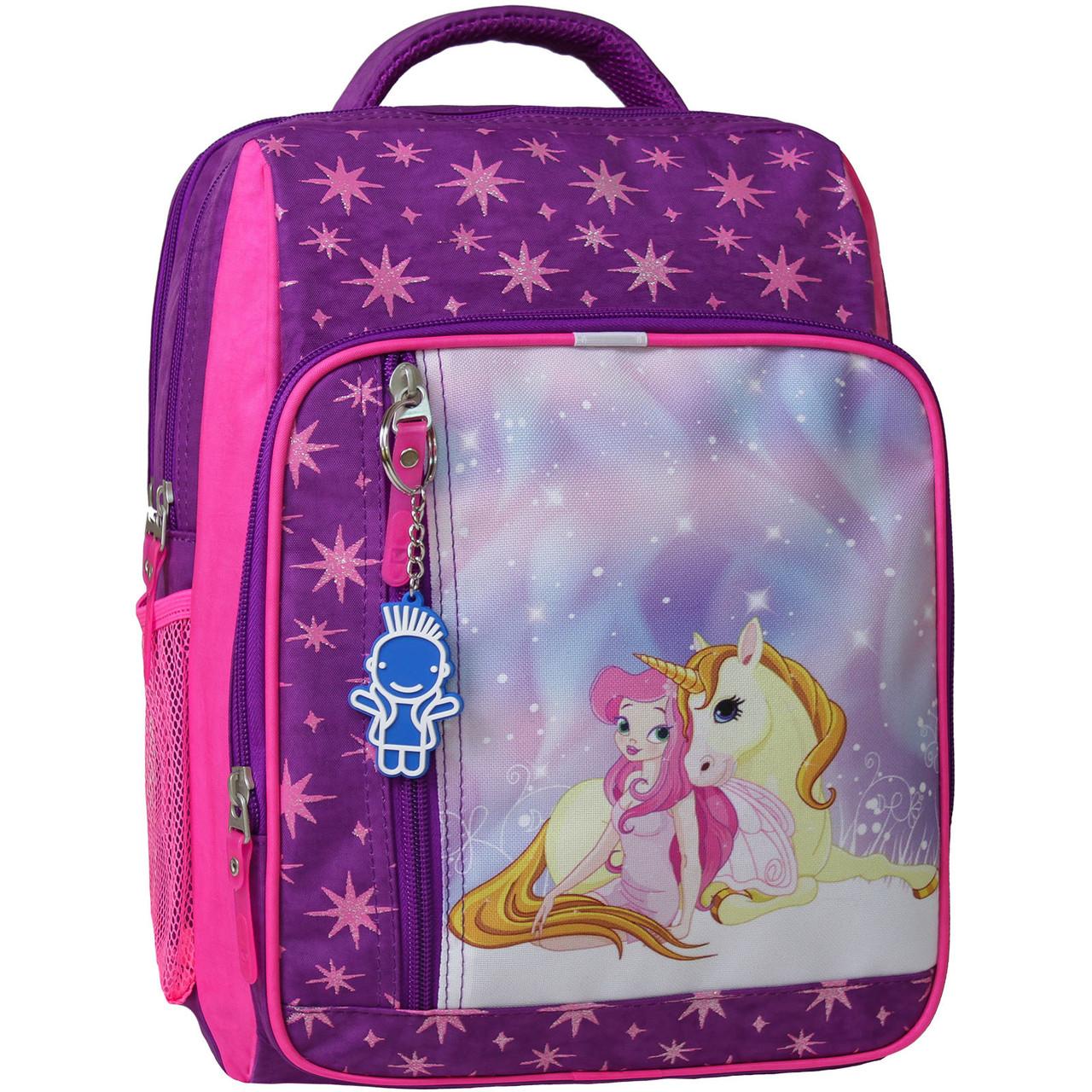 Рюкзак школьный 8 л. фиолетовый 387 (0012870)