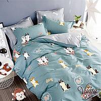 Подростковое постельное белье сатин Viluta (453) 214х150 см