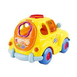 """Детская развивающая игрушка-сортер """"Фруктовая машинка"""" Hola Toys"""