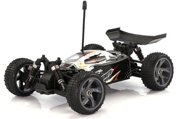 Радиоуправляемая модель Багги 1:18 Himoto Spino E18XB Brushed (белый)