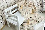 Карпатський ліжник, вовняний плед ФАРБИ ЛІТА 200*220, фото 3