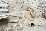 Карпатський ліжник, вовняний плед ФАРБИ ЛІТА 200*220, фото 5