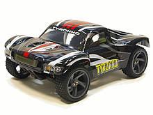 Радиоуправляемая модель Шорт 1:18 Himoto Tyronno E18SC Brushed (черный)