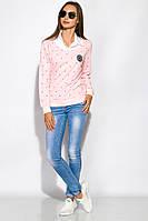 Джемпер-обманка женский 463V002 (Розовый)