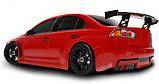 Шоссейная 1:10 Team Magic E4JR Mitsubishi Evolution X (красный), фото 3