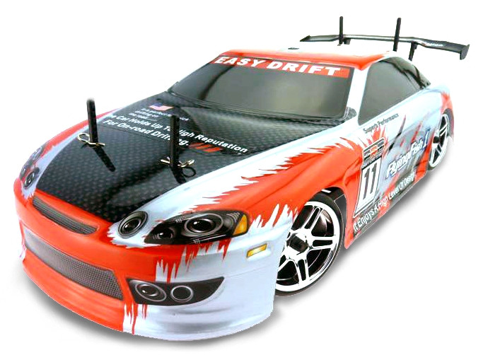 Радиоуправляемая модель Дрифт 1:10 Himoto DRIFT TC HI4123 Brushed (Toyota Soarer)