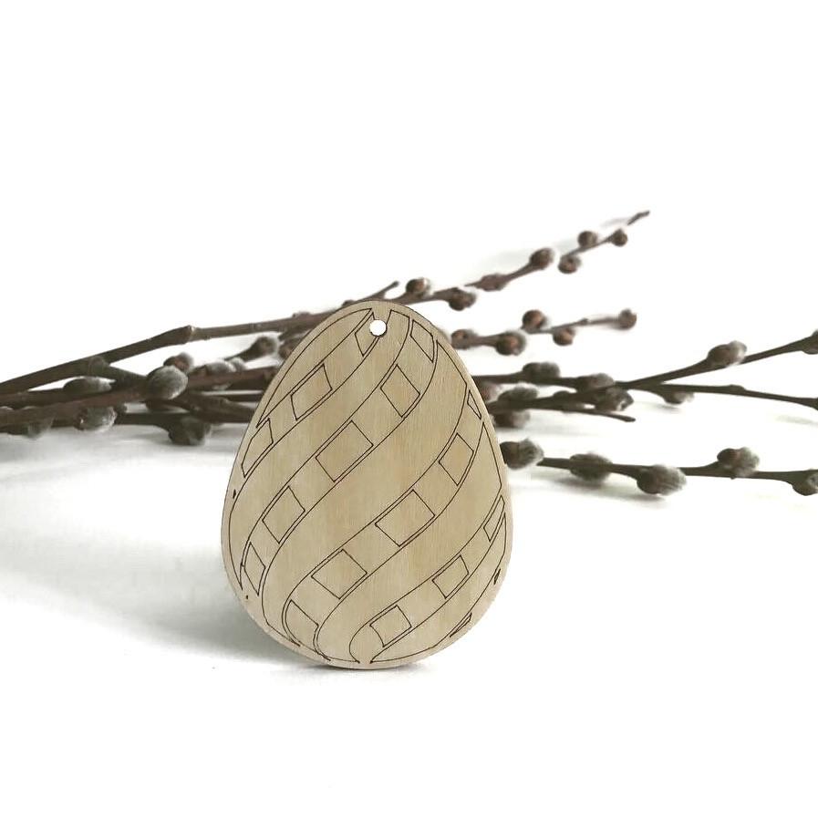 Заготовка для декору шліфована 'яйце'4