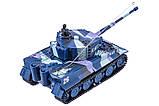 Танк микро р/у 1:72 Tiger со звуком (хаки синий), фото 3