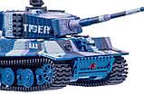Танк микро р/у 1:72 Tiger со звуком (хаки синий), фото 4