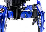 Робот-паук радиоуправляемый Keye Space Warrior с ракетами и лазером (синий), фото 4
