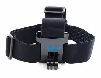 Крепление на голову GoPro и других екшн камер Telesin