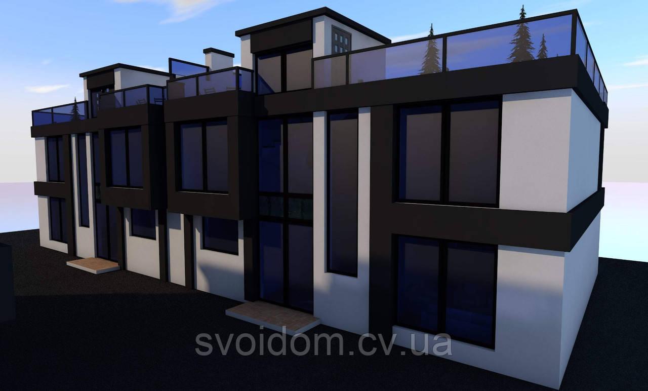 Проетирование и строительство домов в стиле хай-тек по Черновцам и области