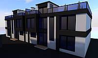 Проетирование и строительство домов в стиле хай-тек по Черновцам и области, фото 1