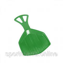 Зимові санки-лопата Plastkon Pedro зелені