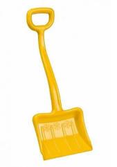 Зимова лопата для снігу жовта