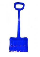 Зимова лопата для снігу синя