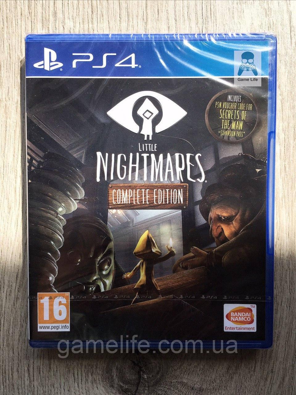 Little Nightmares Complete Edition (рус. суб.) PS4