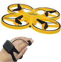 Детский квадрокоптер Drone FireFly с сенсорным управлением рукой CH007